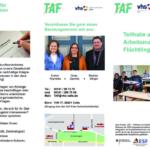 Flyer - TAF (Teilhabe am Arbeitsmarkt für Flüchtlinge) 2021